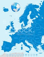 Europe,Map,Vector,UK,France...