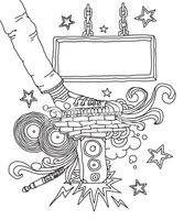 Music,Doodle,Picture Frame,...