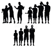 Child,Silhouette,Growth,Tee...
