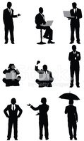 Silhouette,People,Men,Lapto...