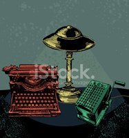 Typewriter,Retro Revival,Ol...