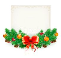 Christmas,Frame,Tinsel,Fir ...