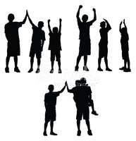 Child,Silhouette,Teenager,A...
