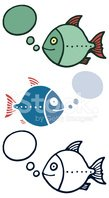 Fish,Ilustration,Drawing - ...