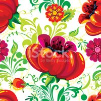 Seamless,Textile,Flower,Tex...