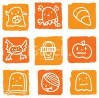 Icon Set,Tombstone,Hallowee...