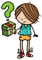 Gift,Cartoon,Child,People,H...