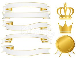 Gold,Gold Colored,Ribbon,Me...