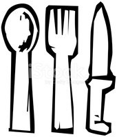 Fork,Spoon,Dining,Table Kni...