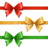 Bow,Bow,Ribbon,Gold Colored...
