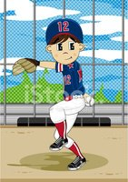 Baseball Player,Youth Leag...