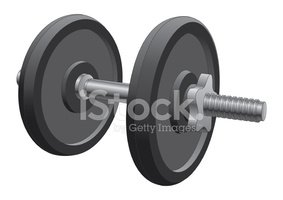 Dumbbell,Weights,Exercising...