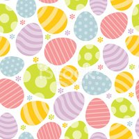 Easter Egg,Pattern,Cute,Bac...