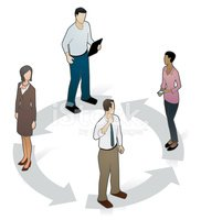 People,Isometric,Business,T...