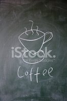 Coffee - Drink,Cup,Chalk - ...