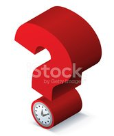 Question Mark,Time,Problems...