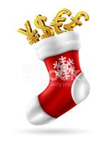 Currency,Christmas Stocking...