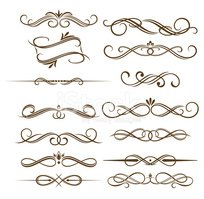 Monograms and dividers