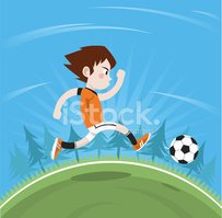 Soccer,Child,Cartoon,Little...