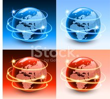 Globe - Man Made Object,Pla...