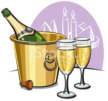 Bucket,Champagne,Drink,Cold...