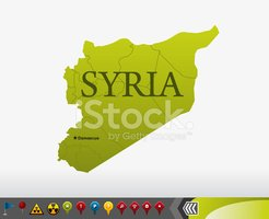 Syria,Map,Cartography,Flag,...