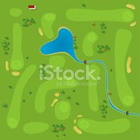 Golf,Golf Course,Map,Aerial...