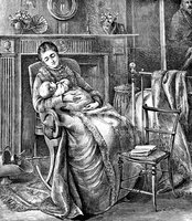 Victorian Style,Mother,Baby...