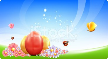Easter,Greeting Card,Spring...