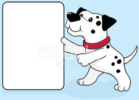 Dalmatian,Dog,Spotted,Sign,...