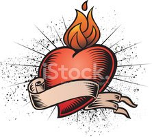 Heart Shape,Fire - Natural ...