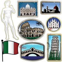 Travel,Label,Italy,Rubber S...