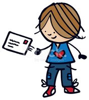 Cartoon,Child,Postcard,Cute...