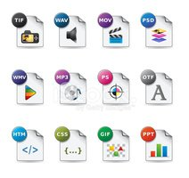 Web Icons - File Formats 5