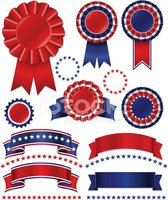 USA,Award Ribbon,Incentive...