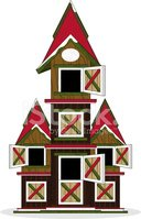 Christmas,Farmhouse,Cabin,C...