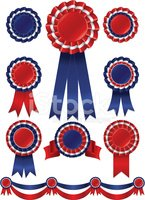Award Ribbon,Competition,R...