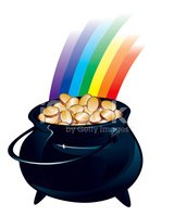 Pot Of Gold,Cooking Pan,Gol...
