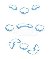 Arrow Symbol,Cloud - Sky,Dr...