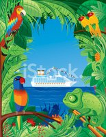 Cruise Ship,Travel,Tropical...