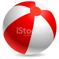 Beach Ball,Ball,Sphere,Red,...
