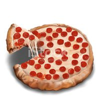 Ilustration,Pizza,Food And ...