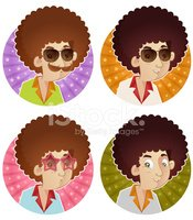 1970s Style,Afro,Men,1940-1...