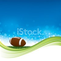 Sparkling American football background