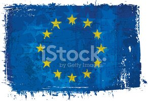 European Union Flag,Dirty,G...