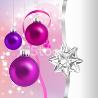 Christmas Ornament,Pink Col...