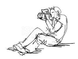 Photographer,People,Sketch,...
