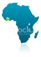 Ivory Coast,Reflection,Map,...