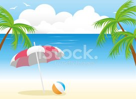 Beach Umbrella,Beach,Island...