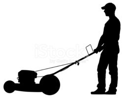 man cutting grass vector stock vectors clipart me rh clipart me grass cutter clipart